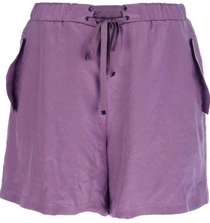 Bottega Veneta silk shorts