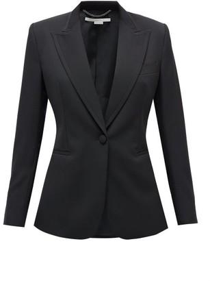 Stella McCartney Single-breasted Wool-twill Blazer - Black