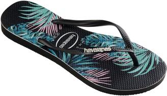 Havaianas Flip Flop Sandals - Slim Tropical Floral
