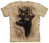 The Mountain Bear Cubs Curious in a Tree Kids T-Shirt - Kids