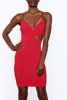 Mystic Bold Cut Out Dress