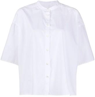 Closed Three Quarter Sleeve Shirt