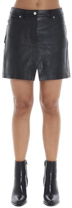 Alexander Wang Mini Inside Shorts Skirt