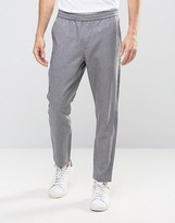 Selected Gray Melange Pants