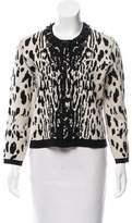 Lanvin Embellish Wool Jacket