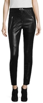 Isabel Marant Arnold Leather Split Slim Pant