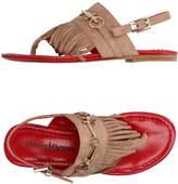 Cesare Paciotti Toe strap sandals - Item 11297802