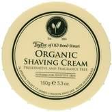 Taylor of Old Bond Street Organic Shaving Cream Bowl 150 g by