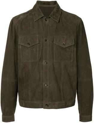 Bally Suede Shirt Jacket