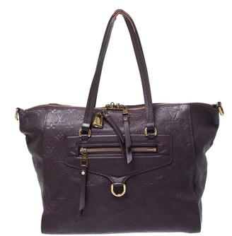 Louis Vuitton Flamme Empreinte Leather Lumineuse PM Bag