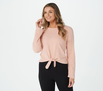 Barefoot Dreams Cozychic Ultra Lite Tie Front Top