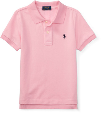 Ralph Lauren Kids Short-Sleeve Logo Embroidery Polo Shirt, Size 2-3