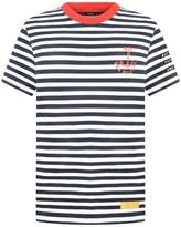 Diesel Boys Navy Striped Taifa Top