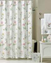 Lenox Bath Accessories, Butterfly Meadow Shower Curtain
