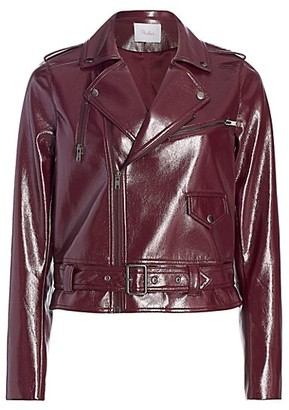 Parker Cooper Faux Leather Moto Jacket