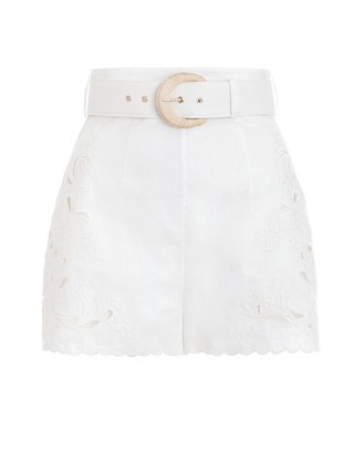Zimmermann Peggy Embroidered Short