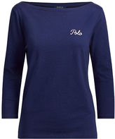 Polo Ralph Lauren Polo Cotton Boatneck Tee
