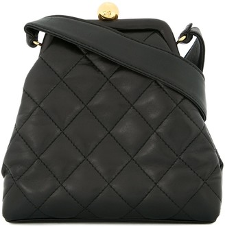 Chanel Pre Owned 1994-1996 Diamond Quilted Tote Bag