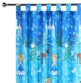 Happy Kids Snow Princess Glow in the Dark Curtain