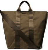 Nonnative Adventurer Webbing-Trimmed Canvas Tote Bag