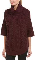 Joules Wool-Blend Poncho