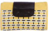 3.1 Phillip Lim Woven Leather Clutch