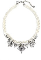 Ben-Amun Women's Faux Pearl & Crystal Collar Necklace