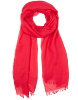 Johnstons of Elgin Strawberry Lightweight Cashmere Scarf