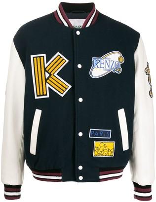 Kenzo Tiger mountain varsity jacket
