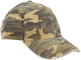 David & Young Olive Camouflage Baseball Cap