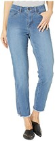 FDJ French Dressing Jeans Jeans Lightweight Denim Olivia Cigarette Ankle Side Seam Effect in Indigo (Indigo) Women's Jeans