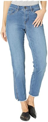 FDJ French Dressing Jeans Lightweight Denim Olivia Cigarette Ankle Side Seam Effect in Indigo (Indigo) Women's Jeans