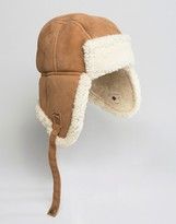 Jack Wills Shearling Trapper Hat
