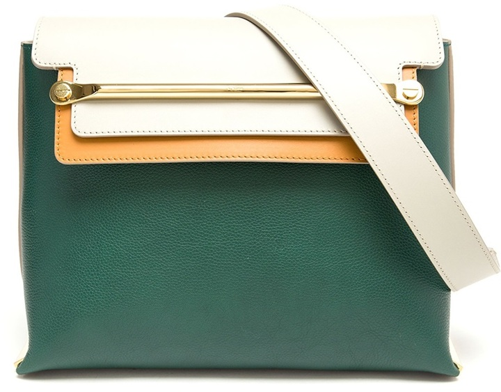 Chloé Clare Contrasting Leather Handbag