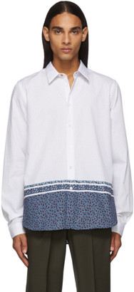 Paul Smith White Floral Tailored Shirt