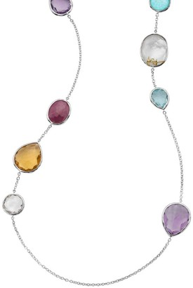 Ippolita Rock Candy Gelato Sterling Silver & Multi-Stone Long Necklace