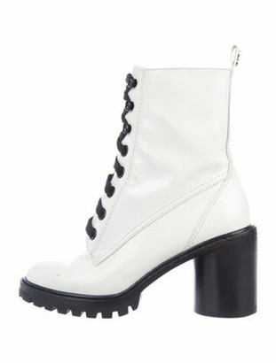 Marc Jacobs Patent Leather Boots White