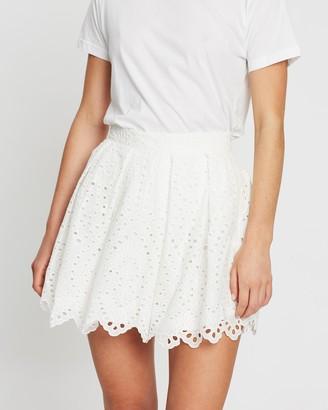 Atmos & Here Bri Broderie Skirt