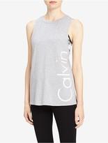 Calvin Klein Performance Drop Arm Logo Tank Top