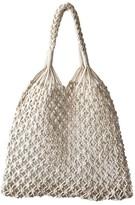 Goodnight Macaroon 'Sherry' Net Braided Handbag (2 Colors)