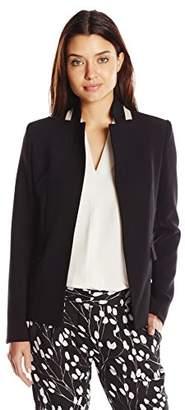 Ellen Tracy Women's Notch Collar Blazer