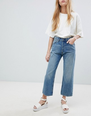 Cheap Monday Mid Rise Straight Leg Jean