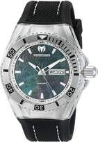 Technomarine Men's TM-115212 Cruise Monogram Analog Display Swiss Quartz Black Watch