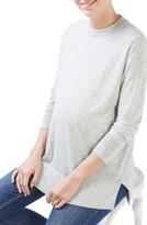 Topshop Women's Back Cutout Maternity Sweater