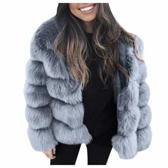 Hzing 2019 New Women's High-End Plush Ball Shape Faux Fur