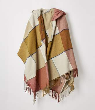 Vivienne Westwood Check Poncho Yellow