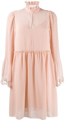 See by Chloe Bell Sleeve Dress