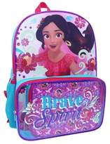 """Disney Elena of Avalor 16"""" Kids' Backpack with Clear Pocket Lunch Kit"""