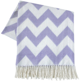Jonathan Adler Zig Zag Baby Alpaca Throw Pillow