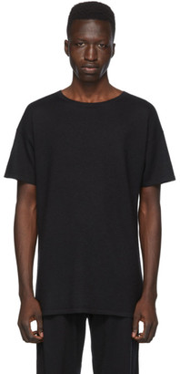 Frenckenberger Black Cashmere T-Shirt